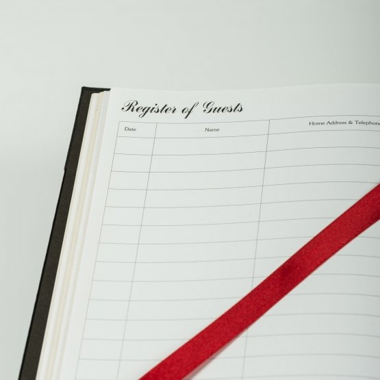 Hotel Registration Books